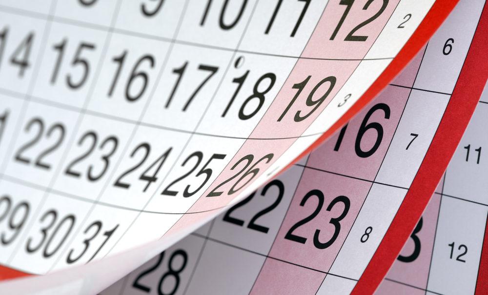 Sequoia Calendar