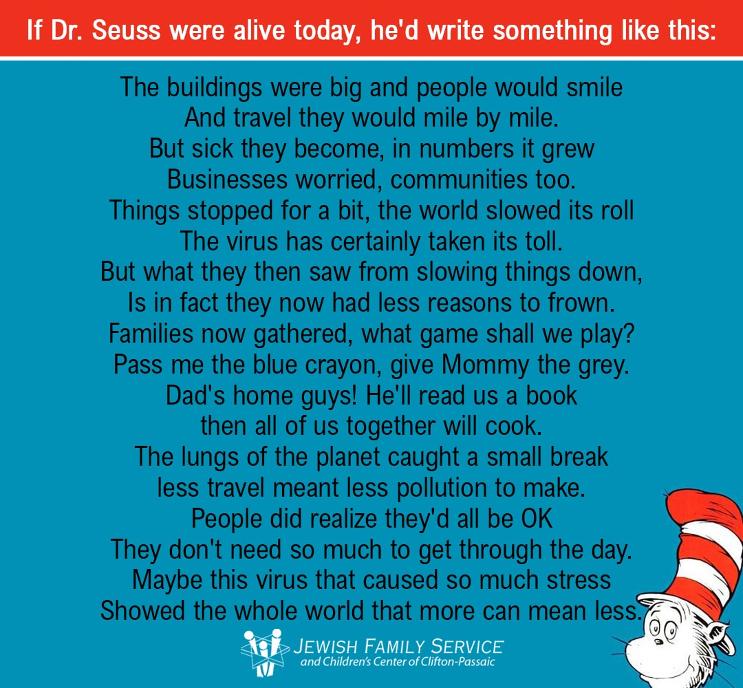 If Dr Seuss Were Alive Today
