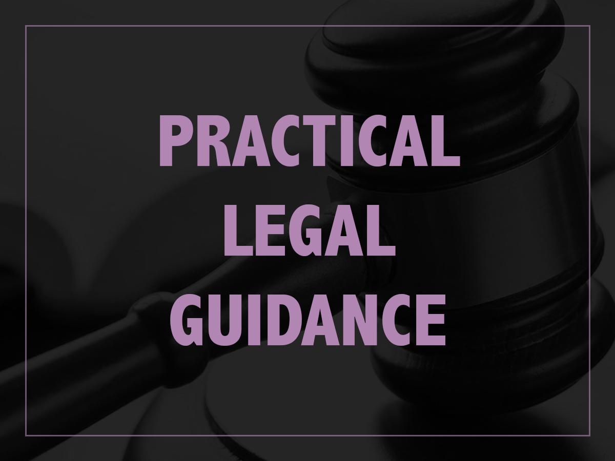 Legal Guidance