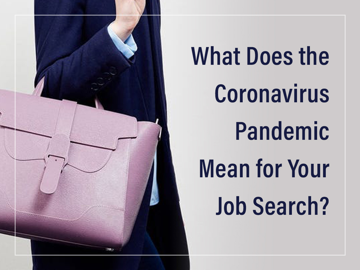Coronavirus and Your Job Search