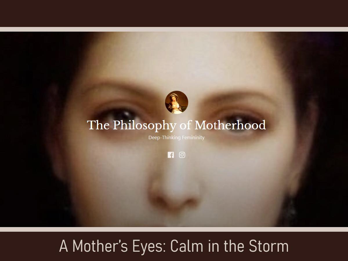 Philosophy of Motherhood