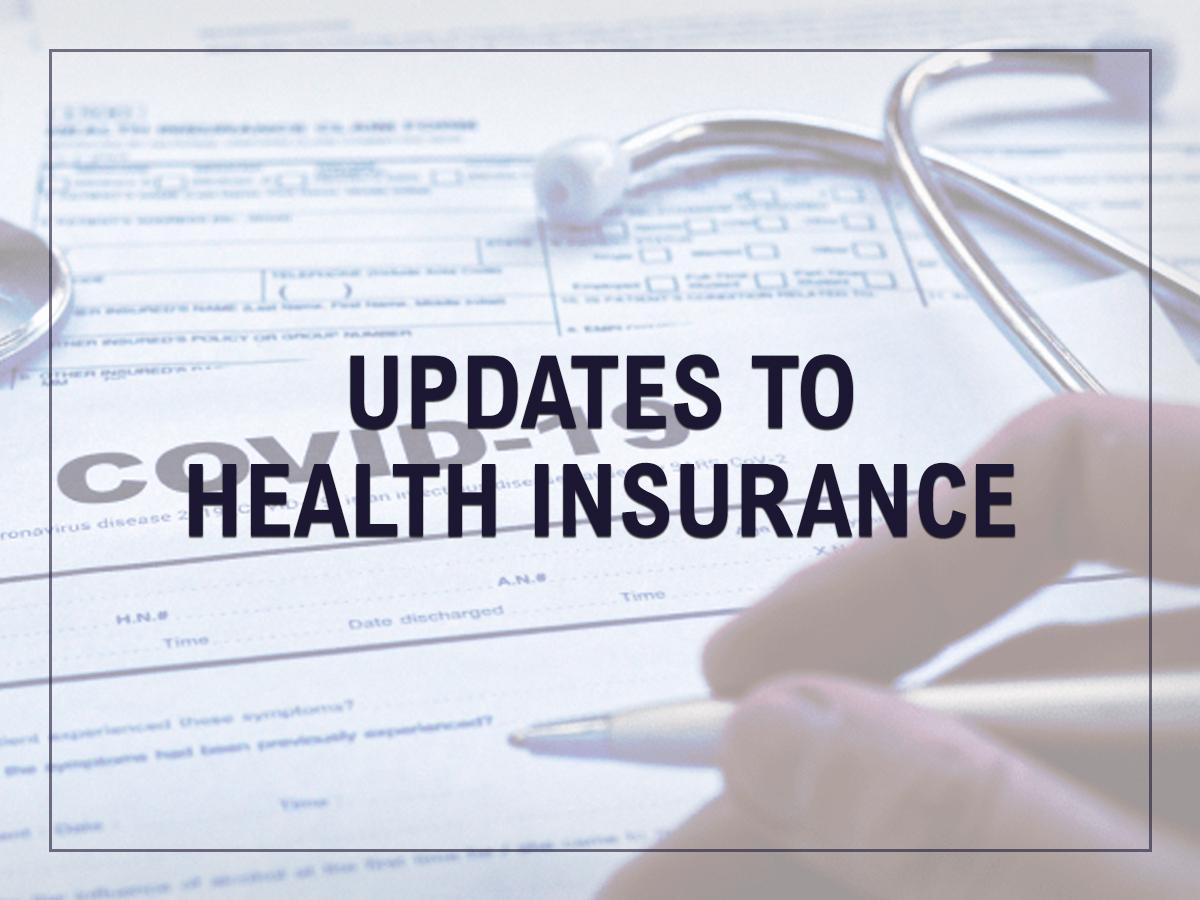 Health Insurance Updates